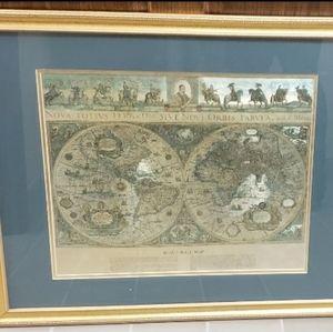 Blaeu Wall Map